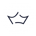 Crown Logo Blanco