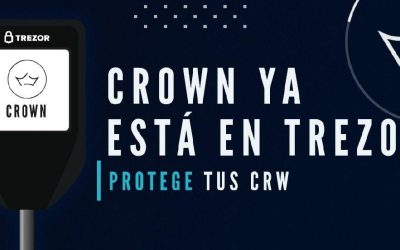 Nuevo monedero Electrum-Crown v.1.2 para Trezor